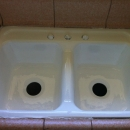 Kitchen Sink Reglazing