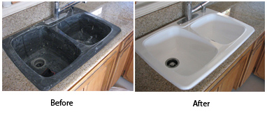 Sink Reglazing