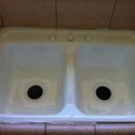 Kitchen Sink Reglazing